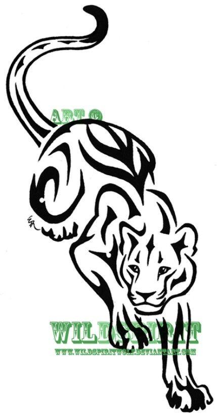 Crawling Tiger | plantillas dibujos spray | Pinterest | Plantillas ...