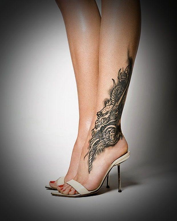 35 Best Leg Tattoo Designs For Women Tattoos Im Not Sure I Love