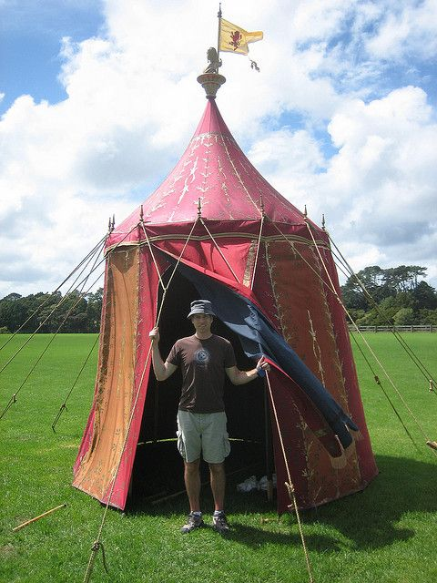 tent used in the 1st Narnia movie by OhToMove, via Flickr