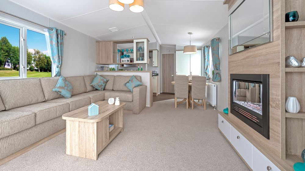 Scatter cushions and central heating optional extras