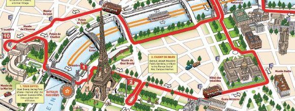 Paris Day Tour Paris Tourist Attractions Paris Tourist Paris Map