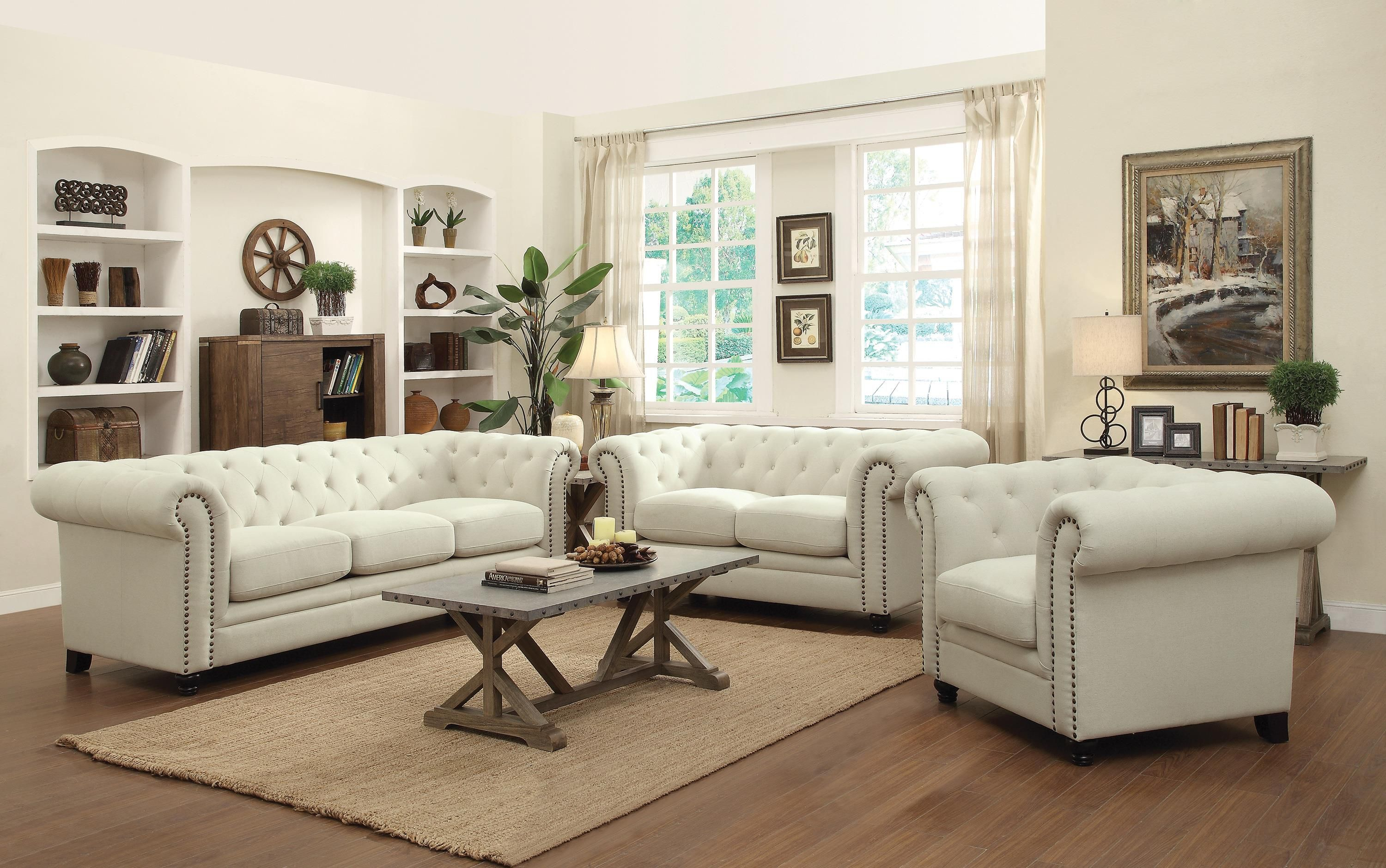 Here are five tips for choosing lighting for your living room. Roy__Oatmeal__54cc631b1b243.jpg | 3 piece living room set ...