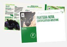 Adotta una Pantera Nera - Sostieni WWF