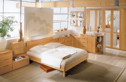 Bright Natural Wood Bedroom Furniture Sets Design Ideas