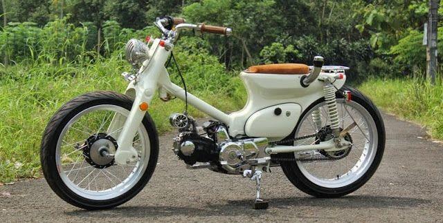 Modifikasi Motor Astrea Grand 97