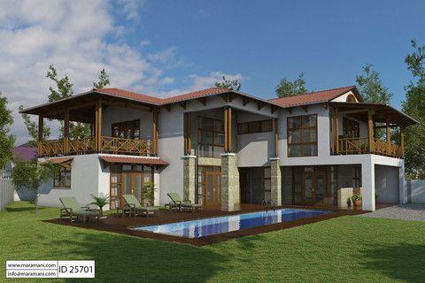 5 Bedroom House Design Id 25701 Bali Style Home House Plans Beach House Floor Plans