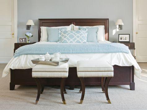 Simply Chic Home Design Magazine Brown Bed Frame Brown Furniture Bedroom Dark Brown Bedrooms