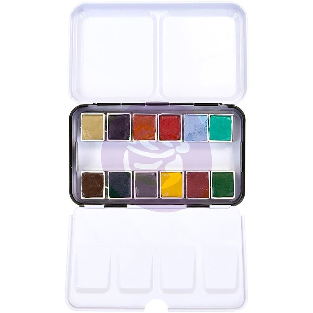 Palette De 12 Aquarelles Prima Watercolor Confections