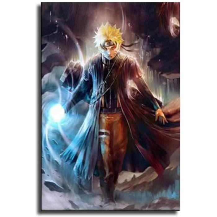 TABLEAU TOILE Naruto The Rambling Naruto Anime dart sur toile et tableau mural Impression moderne de chambre agrave coucher de f1237
