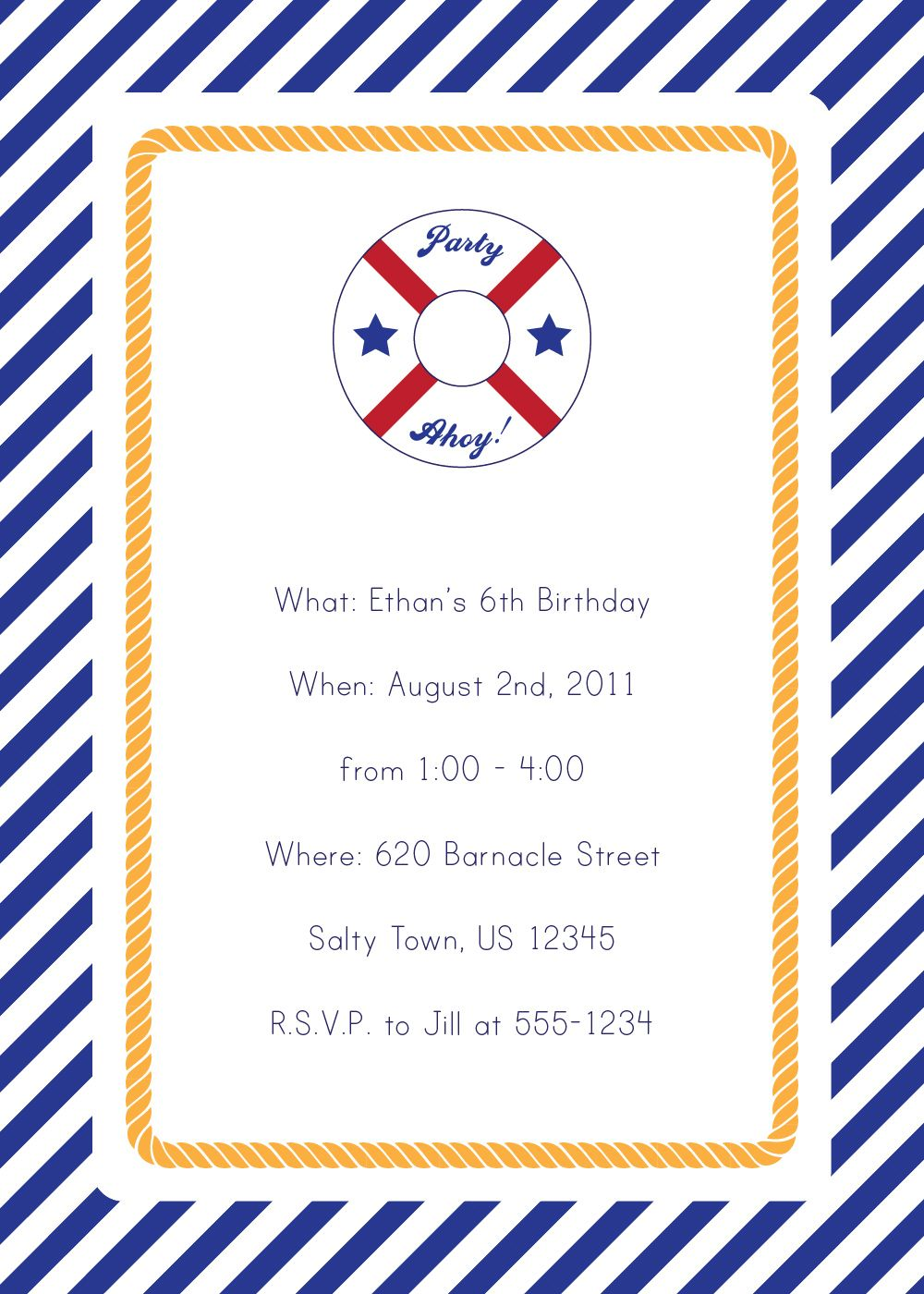 New Release Thursday | Nautical party