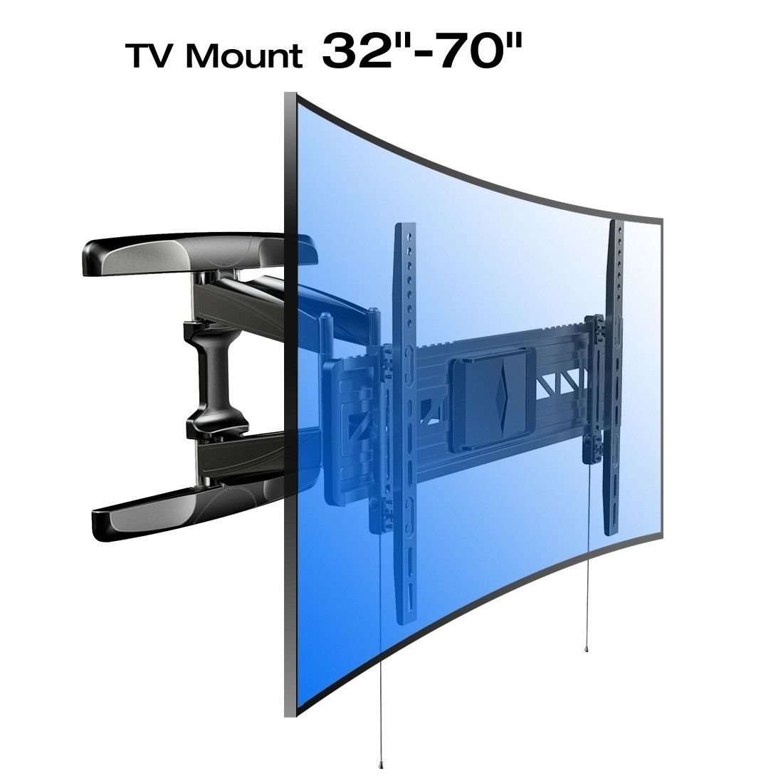 Full Motion Tv Wall Mount Metal Studs