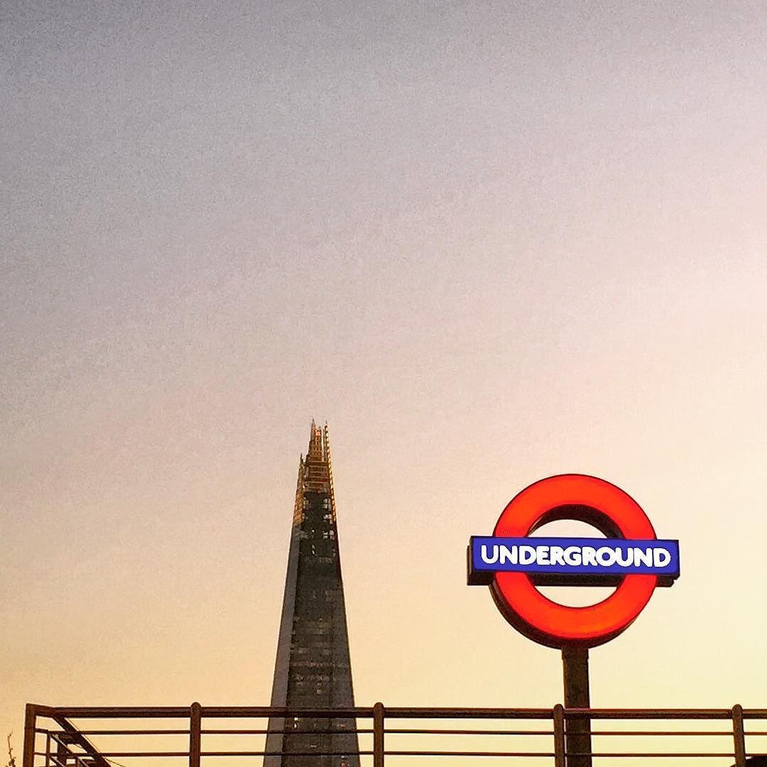 Goodnight Shard #walking #london #shard #towerhill by heleninhapacheco