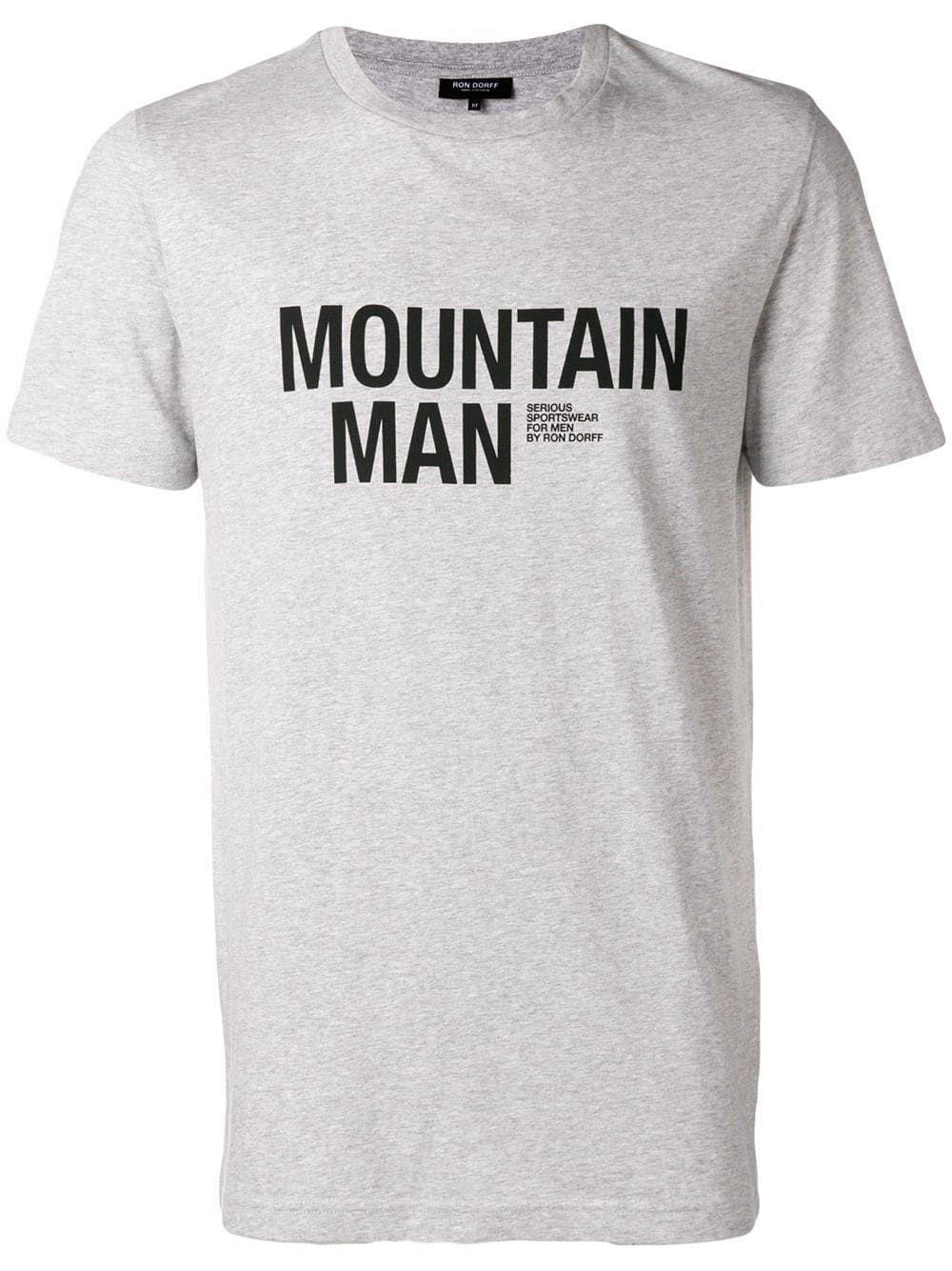 2d1ebbdab85 RON DORFF RON DORFF MOUNTAIN MAN T-SHIRT - GREY.  rondorff  cloth ...