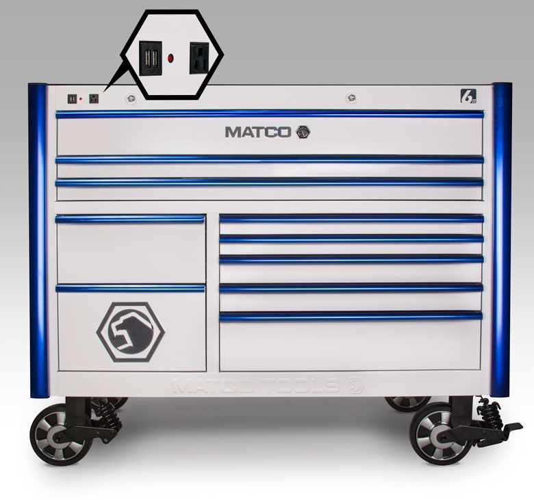 Matco's Power Toolbox | Tool Storage | Pinterest | Toolbox, Box ...