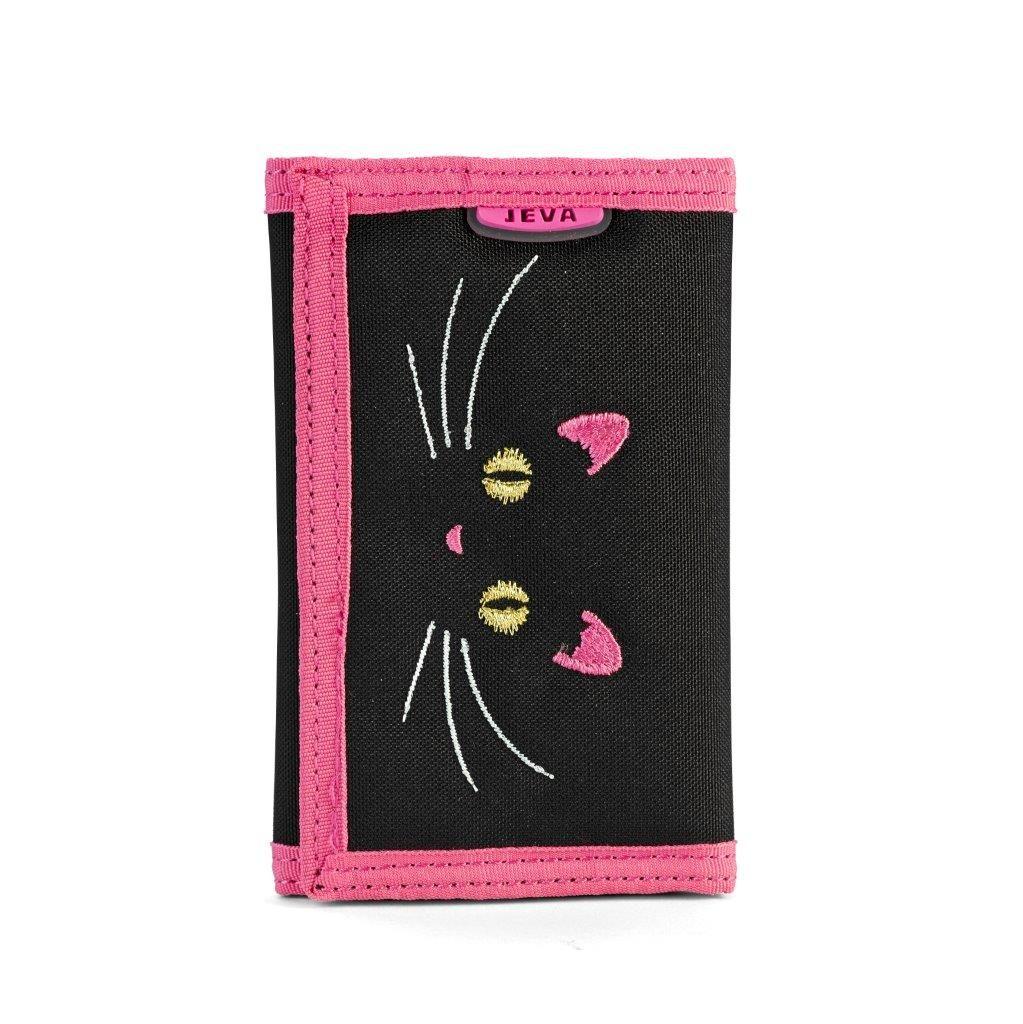 Seje Jeva Pung, Black Cat Jeva Børnepunge til Accessories i behageligt materiale