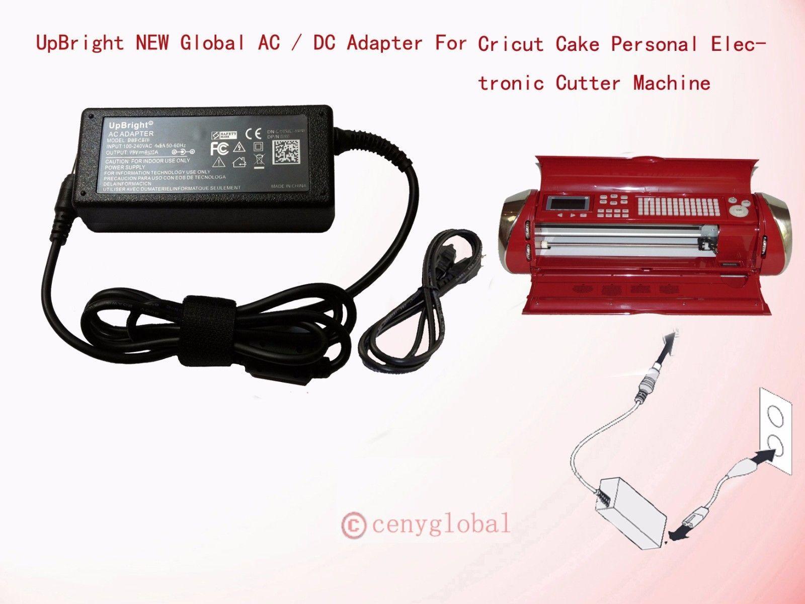 AC Adapter Power Cord 4 Cricut Cutting Personal Cake Create Expression Machine