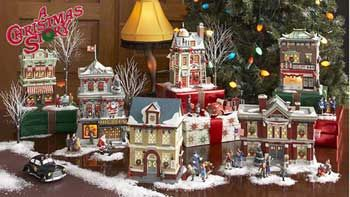 Christmas Story Chinese Restaurant.Dept 56 Combo The Entire A Christmas Story Village I Want