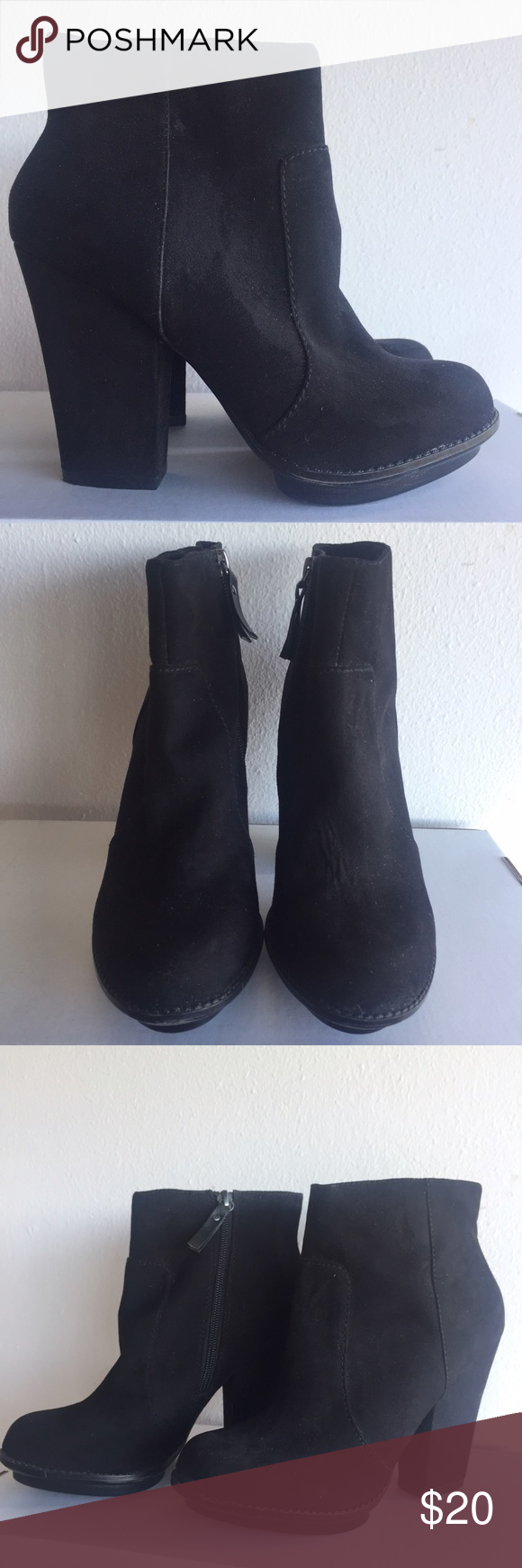 Zara Suede Booties Ankle booties from Zara. Never worn, looks like new! Comfy and chic for every type of weather. Size 39 (8 US), runs true to size. Zara Shoes Ankle Boots & Booties