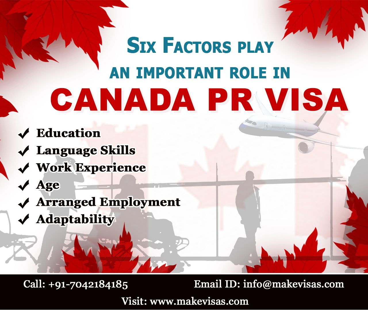 Do you have plans to Immigrate to Canada? These factors