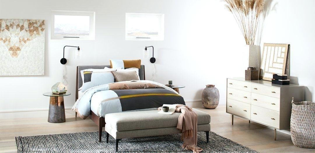 West Elm Bedroom Inspiration Photos Google Search Upholstered Bed Master Bedroom Bedroom Inspirations West Elm Bedroom Inspiration