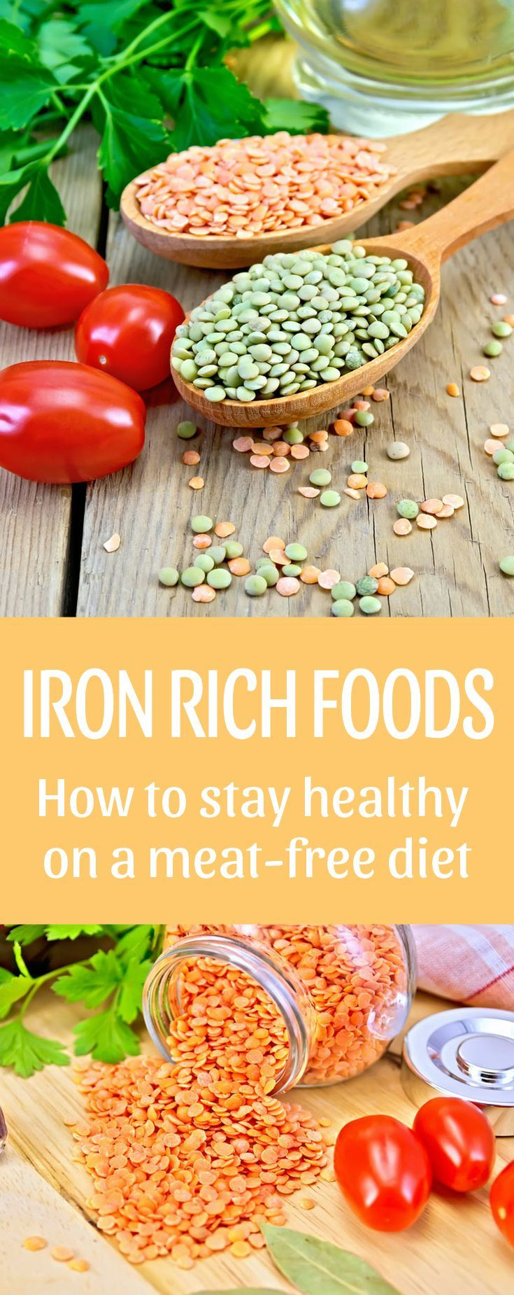 Iron rich foods Vitamins for vegetarians, Iron rich