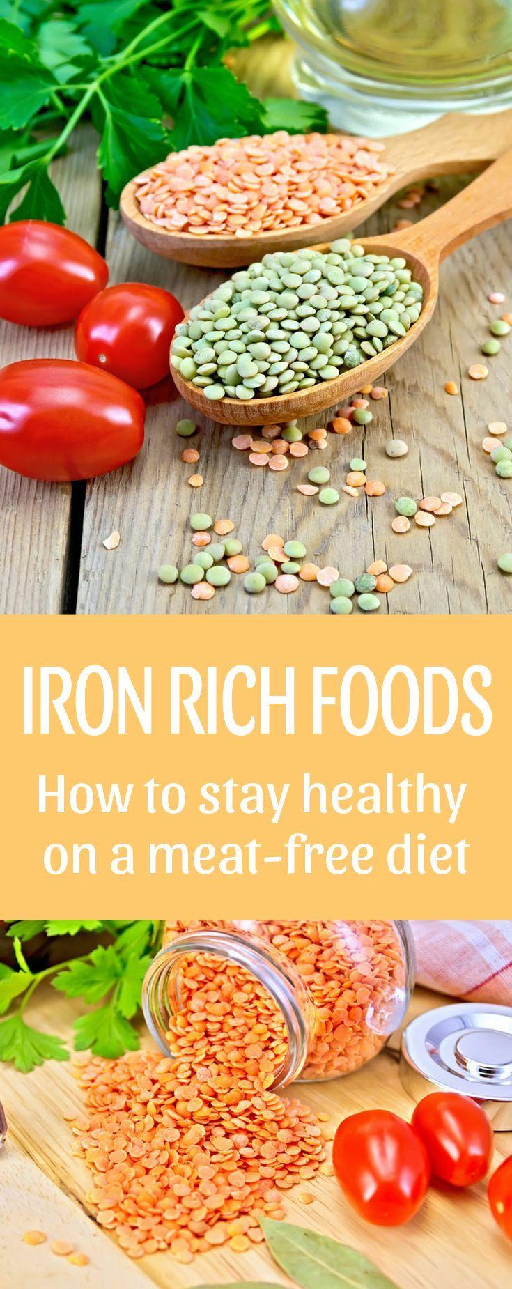 Iron rich foods Vitamins for vegetarians, Iron rich