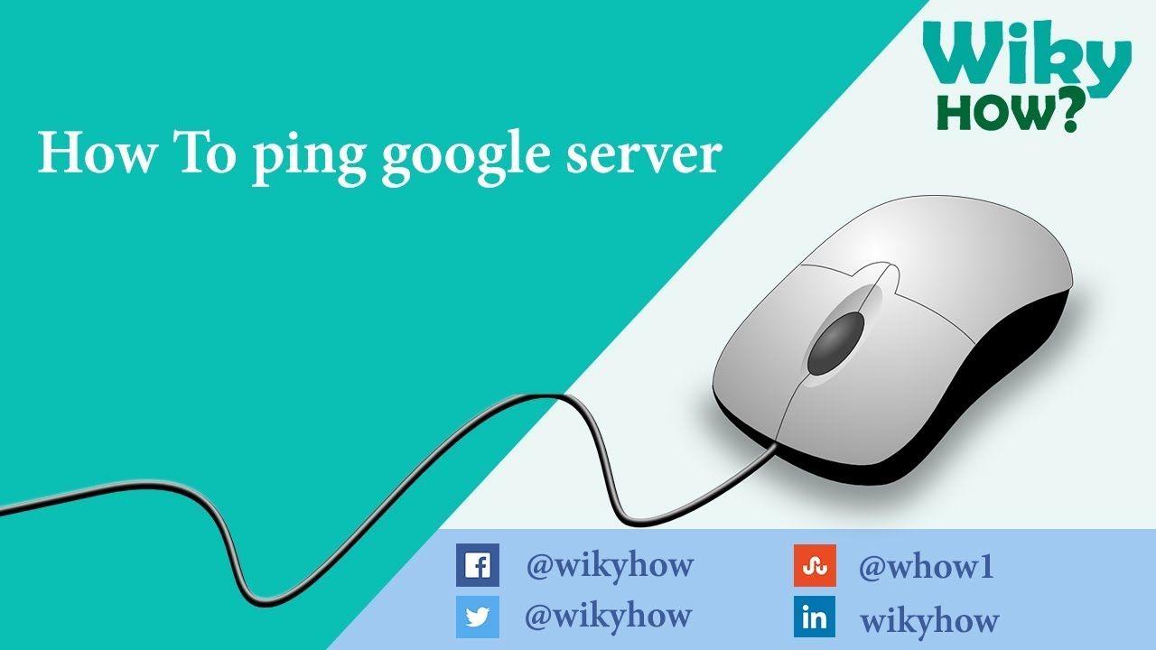 How To Ping Google Server Ip Address Server Change