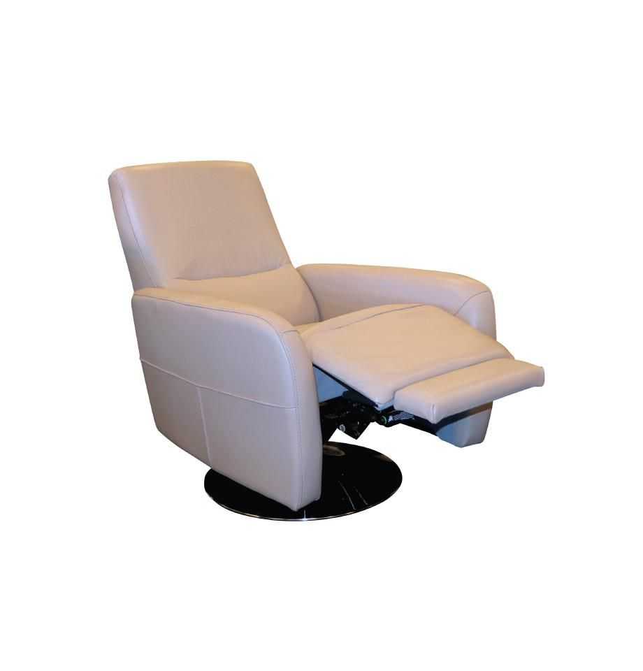 Fabulous Napoli Swivel Recliner Chair Taupe All Top Grain Leather Beatyapartments Chair Design Images Beatyapartmentscom