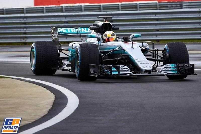 De Mercedes F1 W08 EQ Power+: rank met vleugje blauw - GPUpdate.net