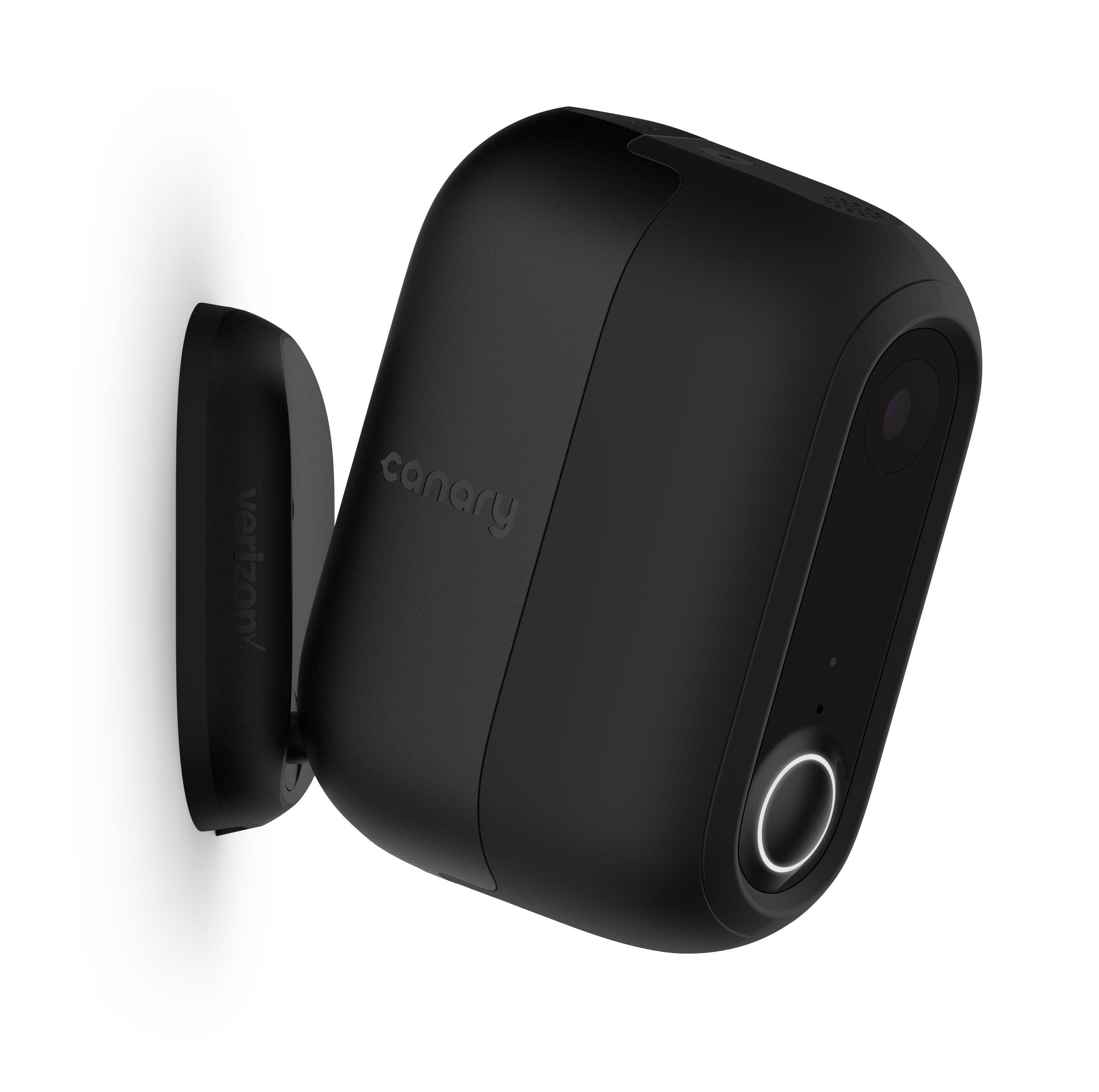 Canary Ip Camera Black Plastic Matte Product