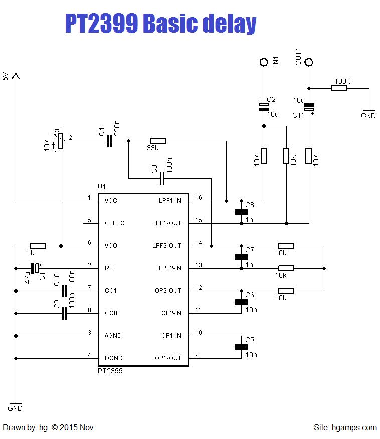 C Bfbbf E Ffb B D B F F on Digital Delay Pedal Schematic