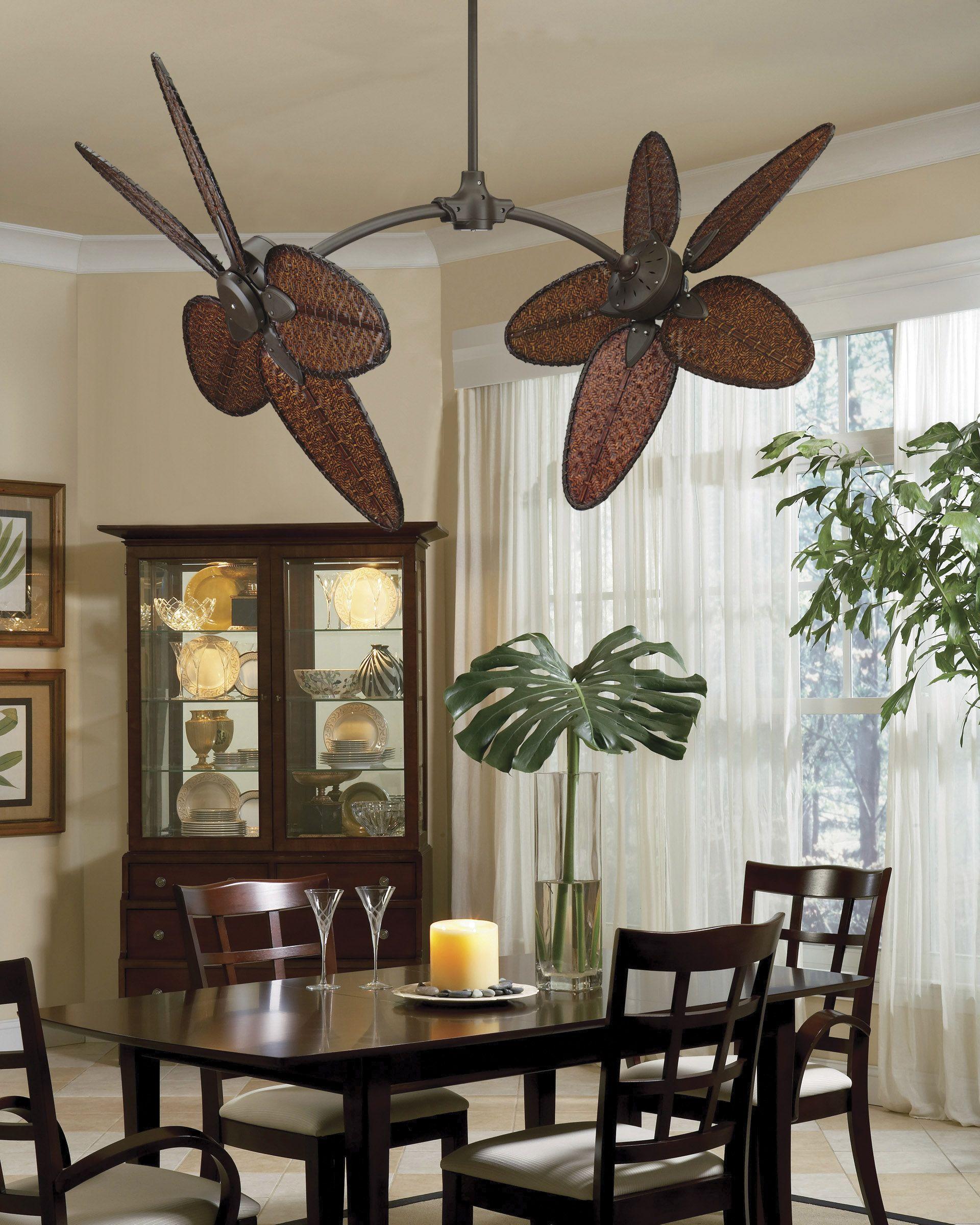 Fanimation Fp7000ob Caruso 44 Inch Oil Rubbed Bronze Ceiling Fan