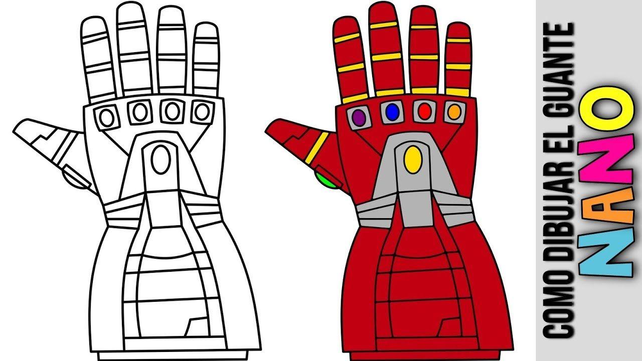Como Hacer En Nano Guantelete De Iron Man Dibujado Nano Guantlet Aveng Iron Man Para Colorear Como Hacer Dibujos Animados Los Vengadores Para Colorear