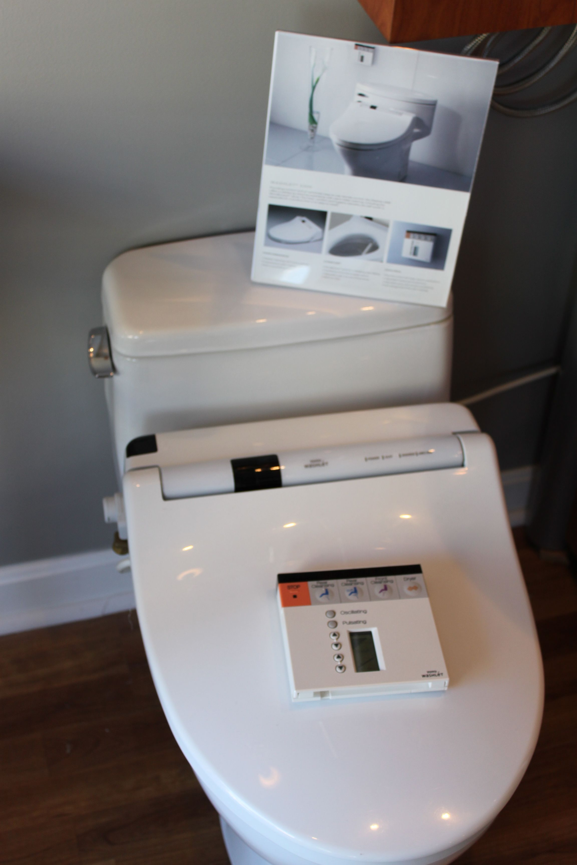 These Toto luxury toilets are amazing! | Portland Showroom ...