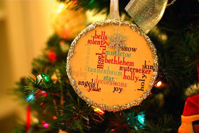 pottery barn knock off diy ornaments