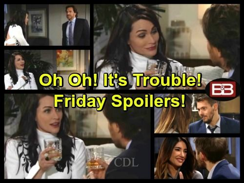 The Bold And The Beautiful Spoilers Ridge And Quinn Bond And Kiss Things Get Complicated Liam Tells Steffy They Re Forever In 2020 Bold And The Beautiful Soap News Quinn