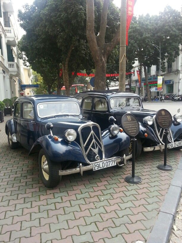 Those are pretty nice cars! Spotted in Hanoi.