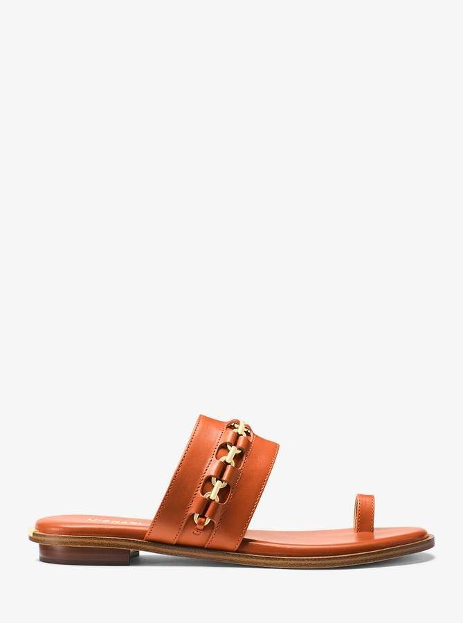 30c02e511c7 MICHAEL Michael Kors Sadie Embellished Leather Sandals   Products ...