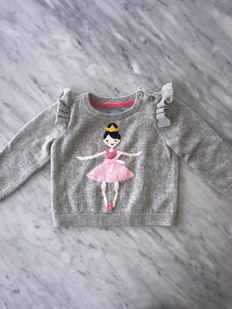 eb44b0df5758 Baby Gap Baby Girl Ballerina Sweater Size 6-12 Month  fashion ...