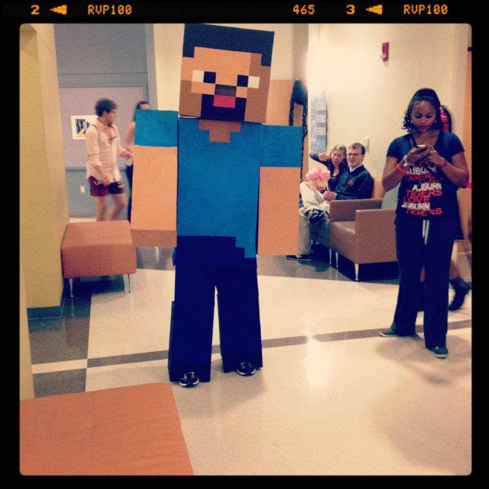 Minecraft Steve costume | Halloween | Pinterest | Best Steve ...