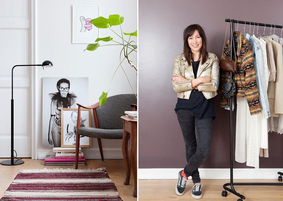 Interiør og stil: Bli med hjem til vintagegründer Claire   Stellamagasinet.no