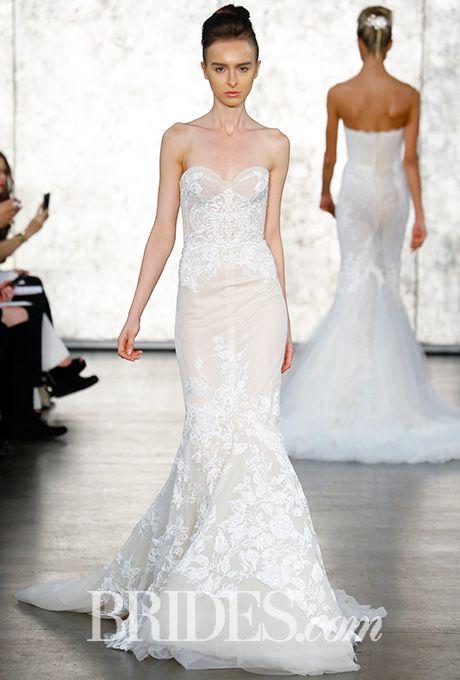 New Inbal Dror Fall Lace Mermaid Wedding DressWedding