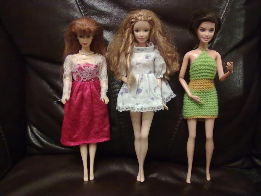 Ubranka Dla Barbie 3 Sukienki Zestaw 2936639893 Oficjalne Archiwum Allegro Sleeveless Formal Dress Formal Dresses Fashion