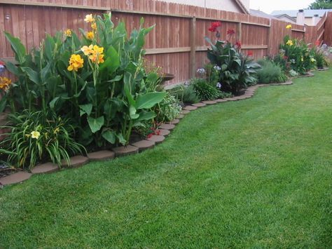 rms trinigirl72 pavers plants along fenceline beach landscaping - Garden Ideas Along Fence Line
