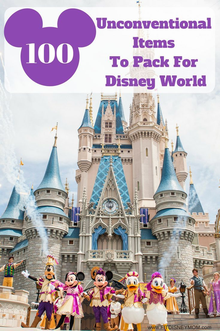 Unconventional Items To Pack For Disney, What To Pack For