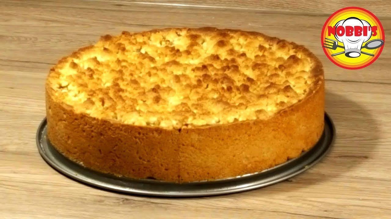 Der Weltbeste Apfelkuchen Mit Streusel Und Vanillepudding Youtube Apfelkuchen Streusel Apfelkuchen Rezept Vanillepudding Kuchen Und Torten