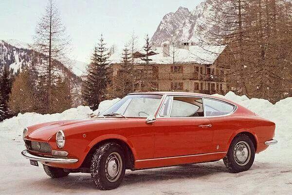 FIAT 124 Coupè by Pininfarina