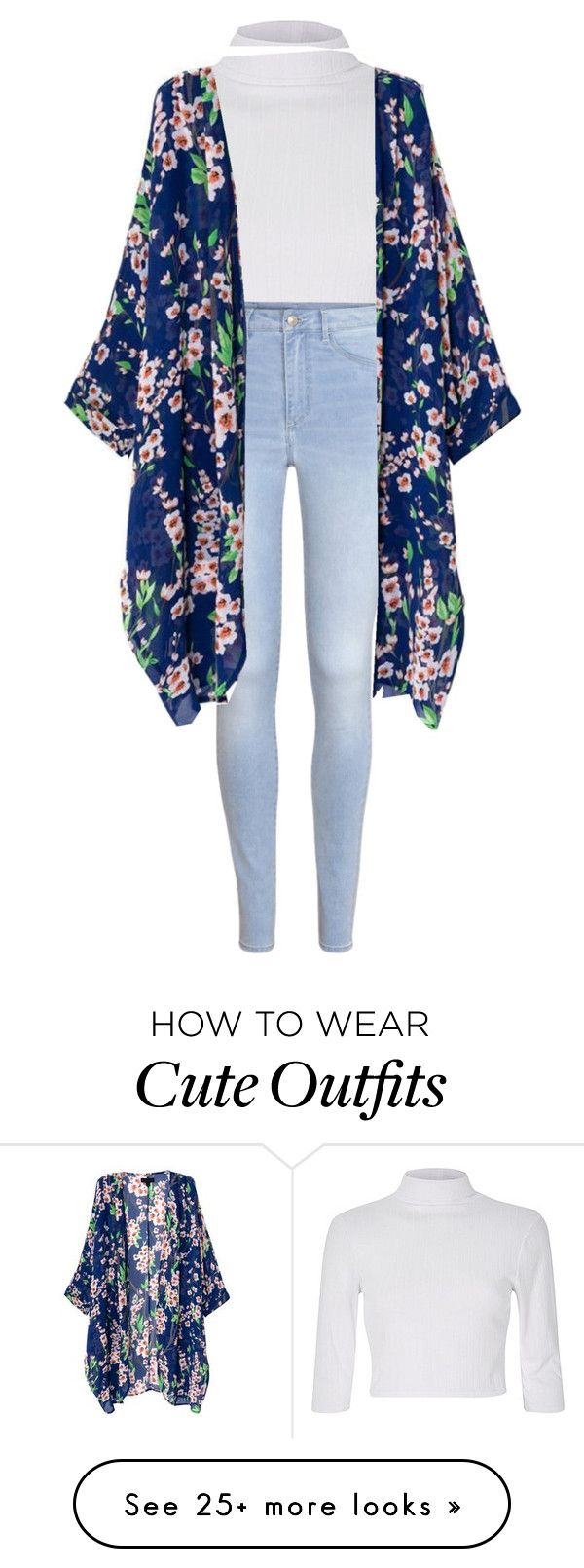 """""""Cute yet simple outfit"""" by iluvselenagomezz on Polyvore featuring H&M"""