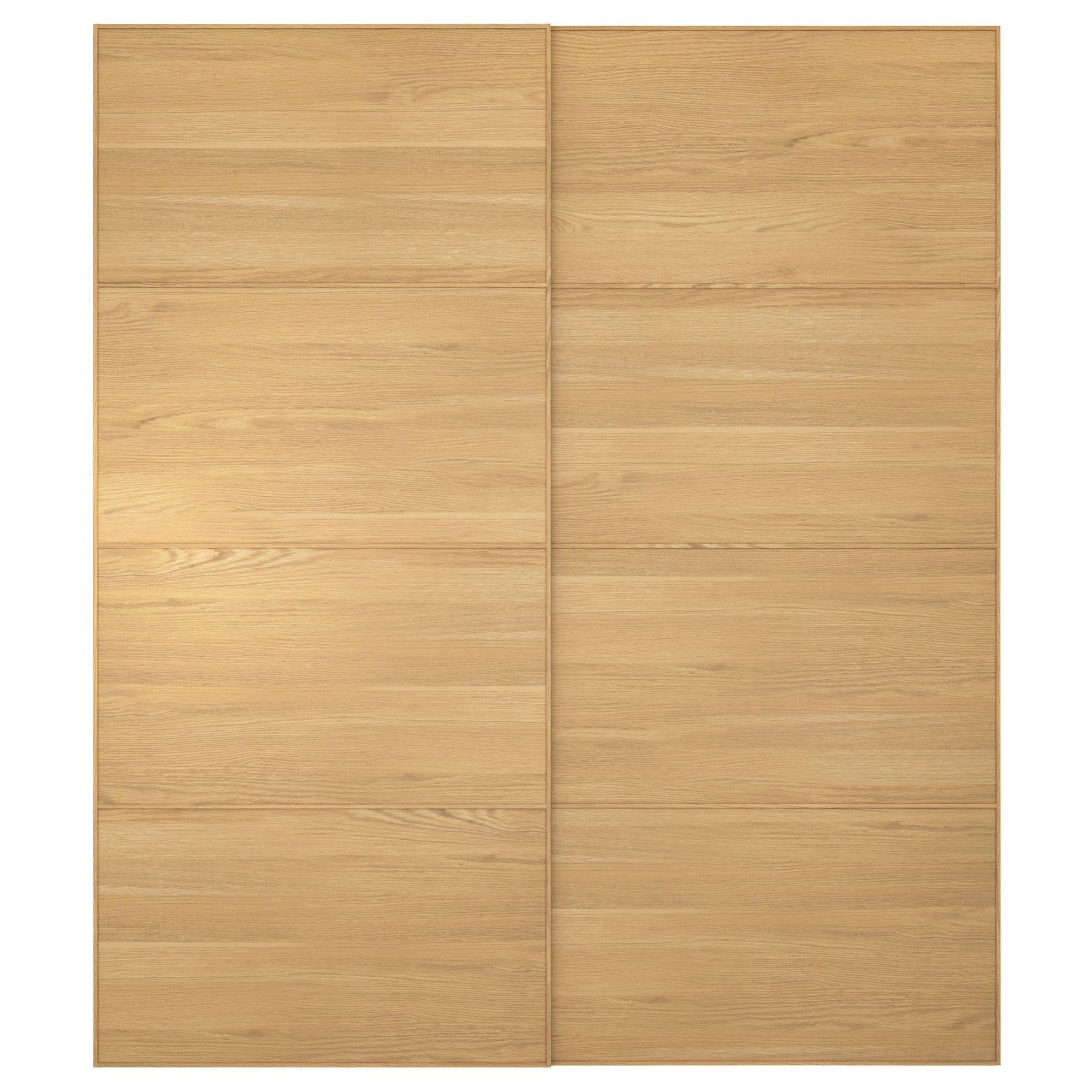 Pax Malm Pair Of Sliding Doors 200x236 Cm Ikea Home