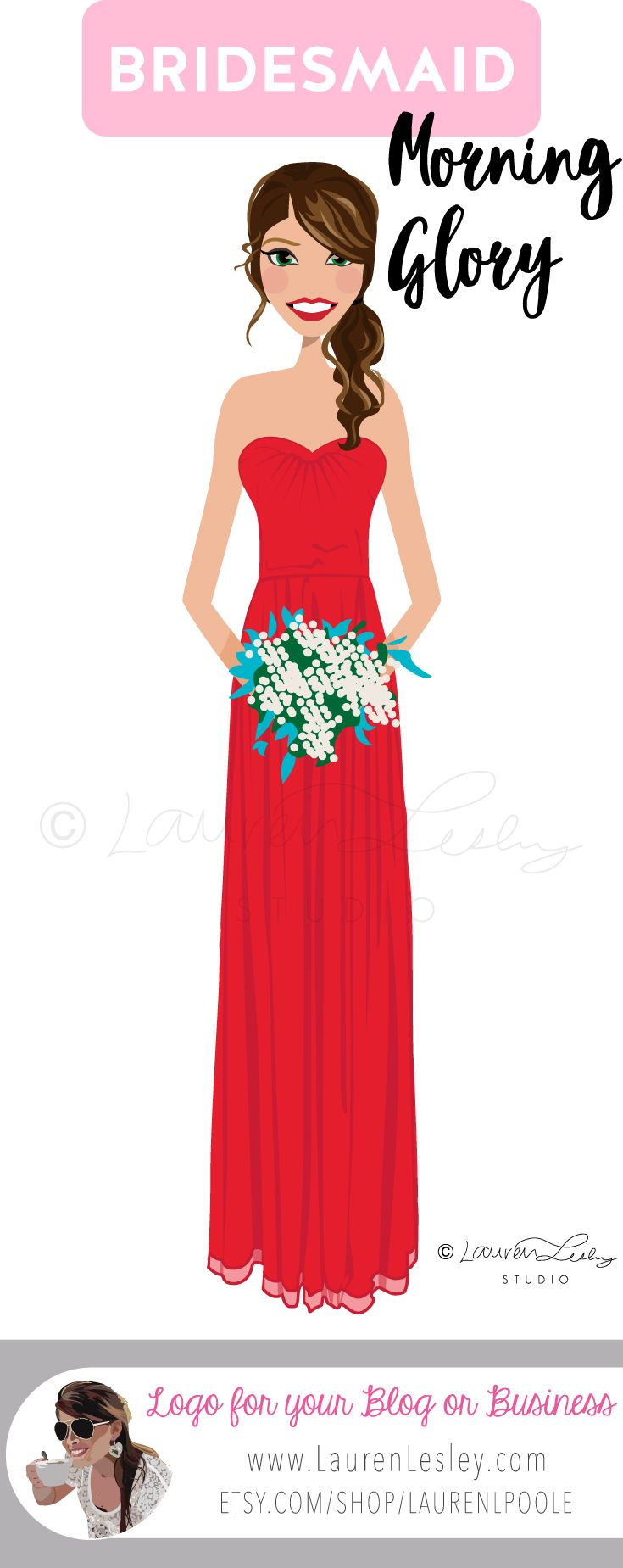 Bridesmaid - Personalized - Custom - Maid of Honor - Wedding ...